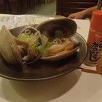 Jougaiichibashokudou - 大アサリの酒蒸し