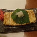 Jougaiichibashokudou - 出し巻き玉子(プレーンと明太子入りが有るそうです)