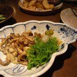 15681397 - 鶏皮ポン酢