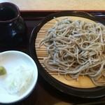 手打ち蕎麦清風庵 富嶽 - 料理写真:せいろ 750円