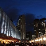 大阪駅前第一ビル 神仙閣ビアガーデン - 気持ちいい。
