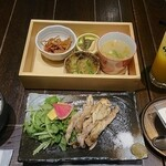 鶏料理 鉄板焼 かしわ - 写真2