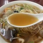 玉泉亭 - スープ