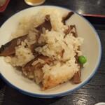にれの木 - 椎茸釜飯