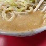 156832541 - 【再訪】スープ(厨房が坊主メガネ君の時はかなり乳化)