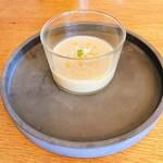 156838943 - ナスの冷製スープ