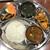 サミクシャ アジアンキッチン - 料理写真:学生セット(=廉価版ダルバート(ネパール定食))
