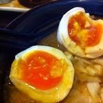 麺屋 和光 - 秀逸な味玉