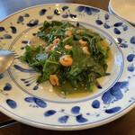 中国菜 智林 - 雲南白薬と干し海老の炒め