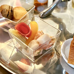 ソマーハウス - 魚介のレモン風味