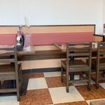 和風レストラン まるまつ - お店も広いので、感染対策もバッチリでした( •̀∀•́ )b