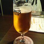 15685343 - 生ビール(モル) 500円