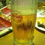 15687236 - 生ビール(オリオン) 500円