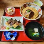 156871613 - 鯖街道、焼鯖寿司付きだよ。