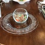 カフェ ル ジャルダン ポップ - 生ハムの料理