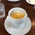 カフェ ル ジャルダン ポップ - ニンジンのスープ