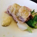 ビストロ ヌー - 酵素ポークバラ肉とキャベツの煮込み