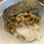 Hotel&Residence 南洲館 - 海苔納豆ご飯