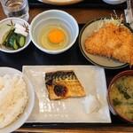 156881796 - アジサバ定食