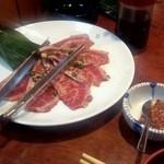 くいどん - 【夜】カルビ定食650円