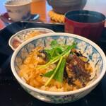 鰻英 - 鰻英会席〜鰻英自慢の季節の鰻会席〜 12000円         夢しずくと鰻の混ぜご飯