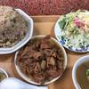 イナリ食堂 - 料理写真:チャーハンともつ煮込み
