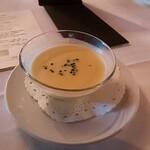 156892246 - ⚫豆乳入りトウモロコシの冷製スープ これ、美味しかった