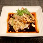 156892910 - おつまみ口水鶏(重慶よだれ鶏)680円