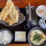 餐粉の励 - 料理写真:「ランチ定食(冷)」@650【1日2食限定】
