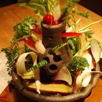 お野菜びすとろ 志あわせ - バーニャカウダ
