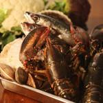 ブルーノテラス - 毎日市場から仕入れる新鮮な食材を、それぞれに合わせた調理法で…。