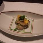 15690572 - 先付け(牡蠣&柿)
