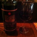 恋文酒場 かっぱ - スペインのハウスワインをボトルで(1本600円)