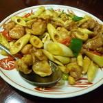 15690608 - 鶏肉とカシューナッツ炒め