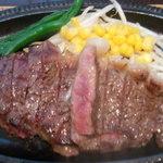 かずえ - ランチのステーキ