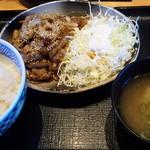 15691299 - 牛焼肉定食・並(530円)