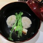 15691825 - 秋刀魚のつみれ汁
