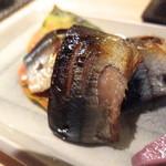 15691833 - 秋刀魚の幽庵焼き
