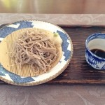 オーベルジュ・グリンデル - お蕎麦と甘味のコース(粗挽き ざる蕎麦)