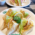 sandwich CLUB HOUSE - 料理写真: