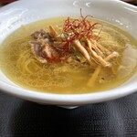 魔界ラーメン 月光 - スープが美味~