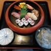 蛇の目 - 料理写真:上にぎり 2200円(税込) (2021.8)