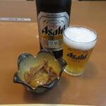蛇の目 - 瓶ビール(中瓶) 590円(税込) (2021.8)
