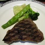 ステーキハウス キッチン飛騨 -  リブ三角ステーキA5級