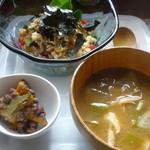 CAFEサンベース - 料理写真:サラダ丼