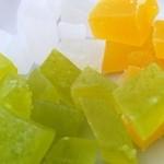 シャララ舎 - 琥珀糖、マンゴー、青りんご、ライチ