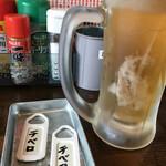 100えん串カツ - ドリンク写真: