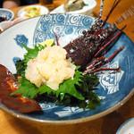 民芸茶房 - 伊勢海老の刺身