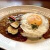 星乃珈琲店 - 料理写真:夏野菜カレー(いつものビーフカレー)とキーマの合いがけ どちらも甘いおうちカレーでした。