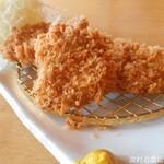 とんかつ平野 - 料理写真:ロース・ヒレ合盛かつ
